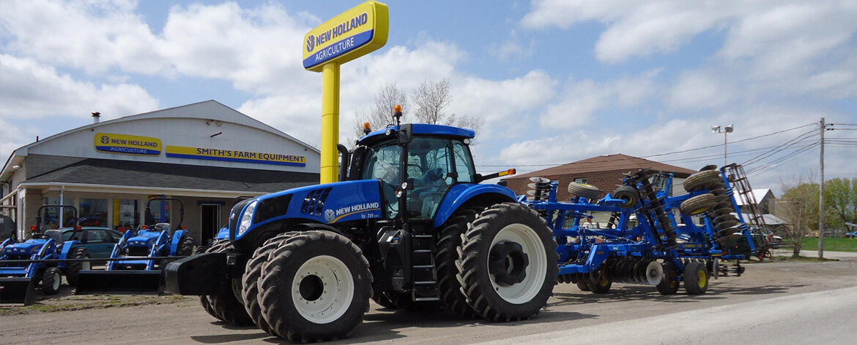 New Holland Dealership : Smiths farm equipment new holland dealer jasper ontario